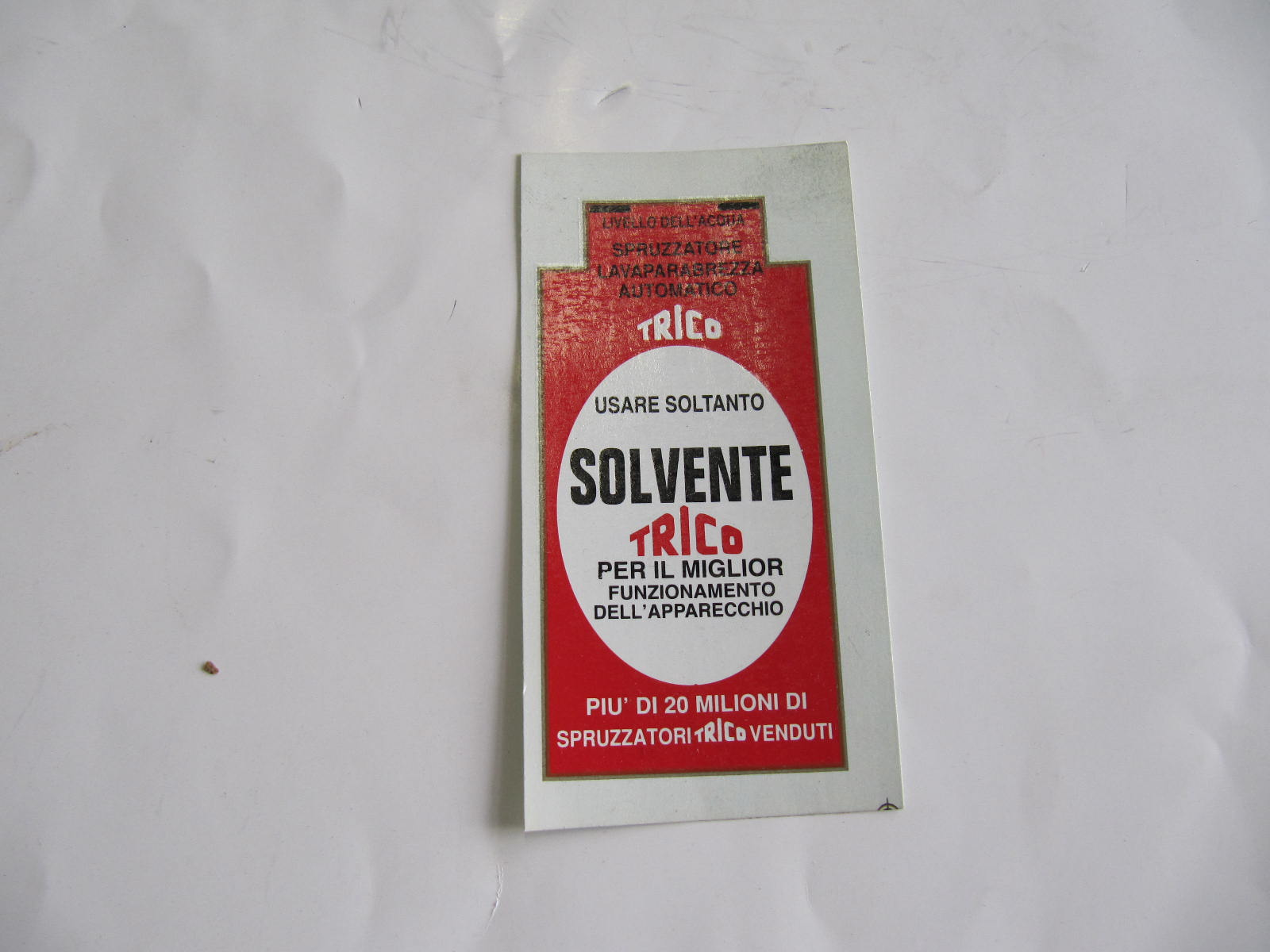 CAV1129 - ADESIVO TRICO