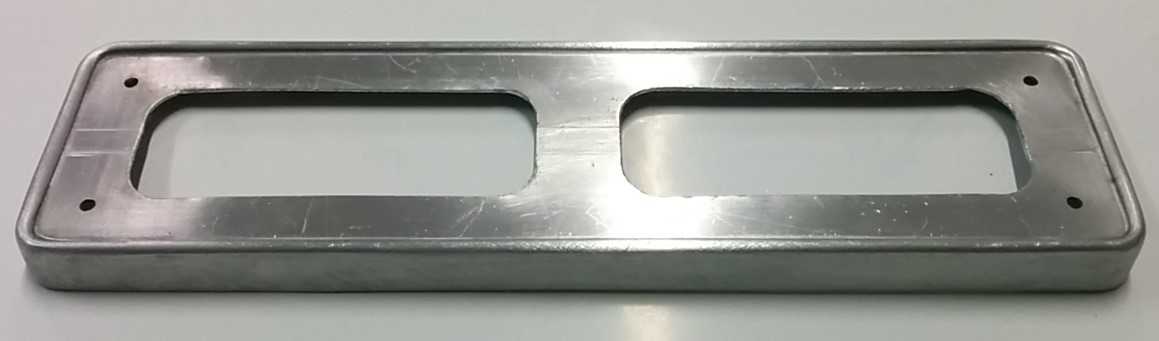 CAV345 - Front license plate holder
