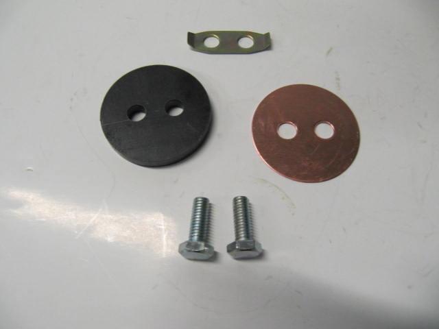 cav765 - kit axle locking flange 2000